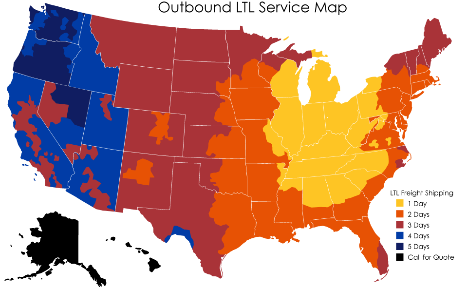 US MAP Frieght
