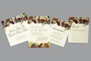 Wedding & Events print